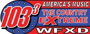 Marquette 103.3 WFXD logo banner
