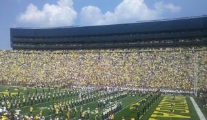 Michigan vs. Western Michigan 09/03/2011