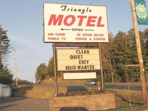 Triangle Motel Ishpeming Michigan
