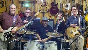 Local Group Flat Broke Blues Band