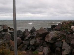 Lake Superior in Copper Harbor