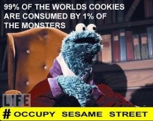 Occupy Sesame Street Comic Occupy Wall Street