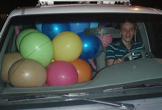Travis in the Great Lakes Radi Van