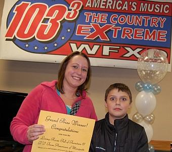 Radio station christmas giveaways