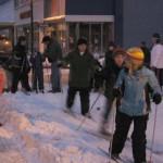 Youth Skiing in Ishpeming
