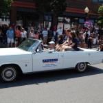 Marquette City 4th of July 2012 Parade Marshals - Jason Allen - DMVA - Deputy Directo