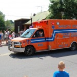 Marquette General Hospital EMS Vehicle - Marquette City 4th of July Parade 2012