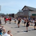 Marquette City 4th of July Parade 2012 - Marquette Senior High School Dance Team
