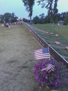 Van Cleve Park Gladstone Vietnam Memorial Wall