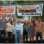 Great Lakes Radio - 4th Texaco Country Showdown - Marquette Township Community Day - Group Shot of All Contestants: Granites Edge, April Morgan, Anna Wahlstrom, Kaitlyn Kachmarsky, Mike Beauchamp