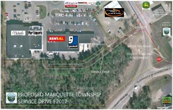 Proposed Marquette Township Service Drive 2012