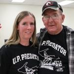 Bob and his daughter