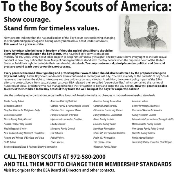 Boy Scout ad
