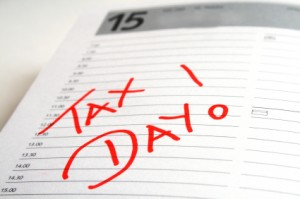 The stresses of Tax Time! Taxes are due April 15th, 2013