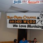 WQXO AM 1400 Mustang Banner