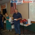 Walt Draws First Door Prize Winner