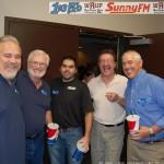 Walt Lindala, Mike Plourde, Eric Tasson, Dennis Harold & Bill Tibor