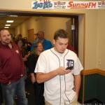 "Carl Johnson - ""I'm Tweating for Great Lakes Radio"""