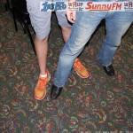 Compare Travis Orange Shoes To Luke's Boots