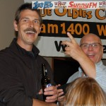 Todd Noordyk, CEO & President of Great Lakes Radio (Right), Pretty Happy