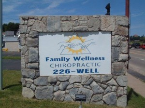 Family Wellness Chiropractic sign