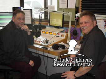 St. Jude Radiothon 2014 103 FXD Joe Duckworth and Dan Adamini