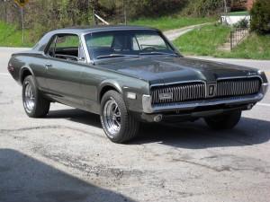 A 1969 Mercury Cougar