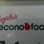 Econo Foods had your back last Saturday!