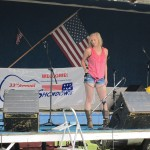 Briana took over the stage for the Country Showdown.