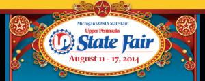 The Upper Peninsula State Fair in Escanaba, Michigan - August 11th - 17th, 2014