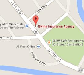 Find Gwinn Insurance on Google Maps