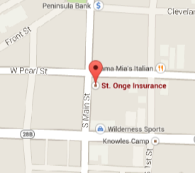Find St. Onge Insurance on Google Maps