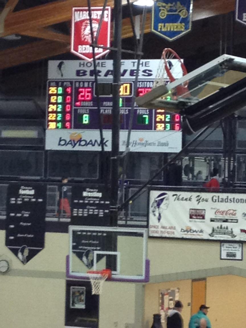 Gwinn ModelTowner Girls basketball defeated the Gladstone Braves 44-38 on Fox Sports Marquette 105.1 and GoToGwinn.com
