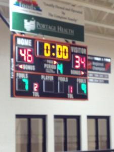 Houghton Gremlins defeated Gwinn ModelTowner Girls basketball 46-34 on Fox Sports Marquette 105.1 and GoToGwinn.com December 15th, 2014