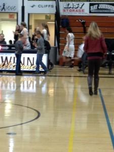 Gwinn ModelTowner Girls basketball defeated Mid Pen Wolverines on Fox Sports Marquette 105.1 and GoToGwinn.com 01/29/2015