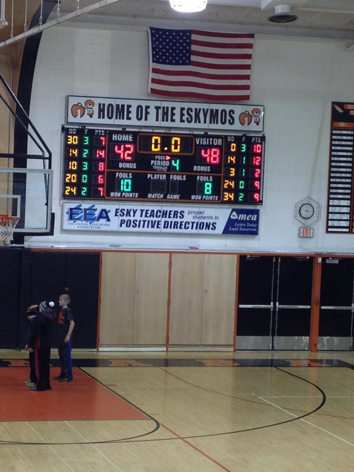 Gwinn ModelTowner Boys basketball defeated the Escanaba Eskimos on Fox Sports Marquette 105.1 and GoToGwinn.com 02/24/2015