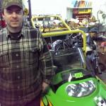 Mikes Rolling Thunder Ishpeming Michigan Arctic Cat 370 fan cooled 2000 repair