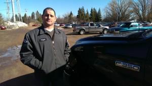 Big Valley's new Service Manager: Ryan Frazer