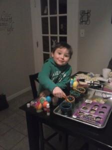 My nephew Landyn turns 4 today. Happy Birthday!
