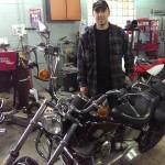 Mikes Rolling Thunder Ishpeming MI 1984 Harley soft tail rebuild 03