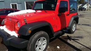 Red Jeep Wrangler Sport Big Valley Ford Ewen MI 01
