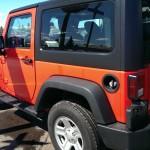 Red Jeep Wrangler Sport Big Valley Ford Ewen MI 02
