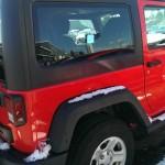 Red Jeep Wrangler Sport Big Valley Ford Ewen MI 03