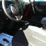 Red Jeep Wrangler Sport Big Valley Ford Ewen MI 07