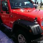 Red Jeep Wrangler Sport Big Valley Ford Ewen MI 12