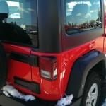 Red Jeep Wrangler Sport Big Valley Ford Ewen MI 13