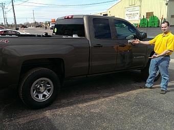 feature LaFayette Collision Marquette Michigan 2014 Chevy Silverado After Repair 10