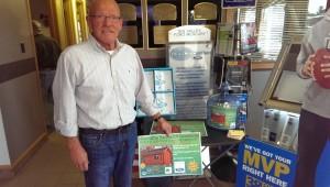 Co-owner Bruce Cook of Big Valley in Ewen Michigan
