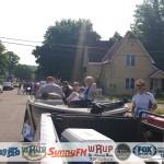 GLR Entering Parade Ishpeming Michigan July 4, 2015