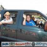 Dennis, Nancy, and Luke - 4th of July in Ishpeming, Michigan